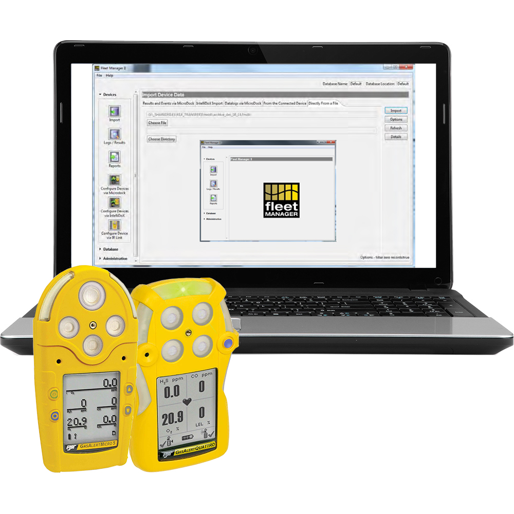 Tutorial: Export and Save Data from Micro 5 Gas Detectors and Quattro Gas Meters Using the BW Fleet Manager Software
