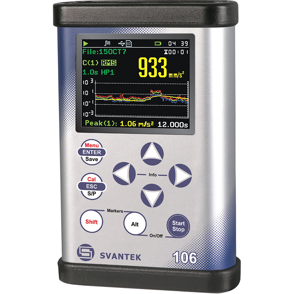 Tutorial: Svantek SV-106 Vibration Meter Interactive Training