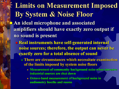 Webinar: Advanced Topics in Sound Level and Noise Measurement