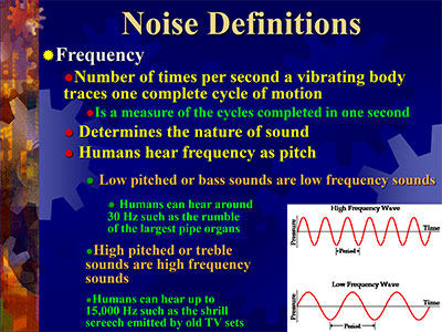Webinar: Noise Primer for Environmental Health and Safety