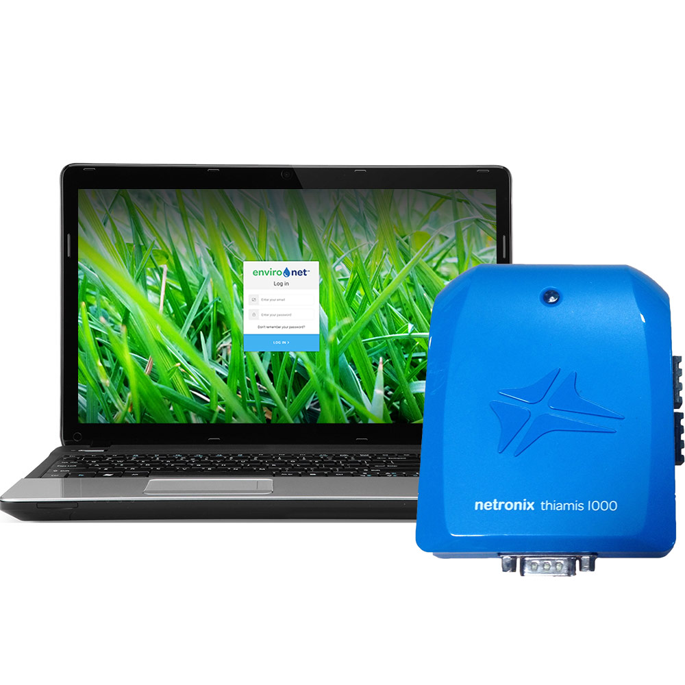 How Use Environet Online Datalogging Software for Netronix Thiamis