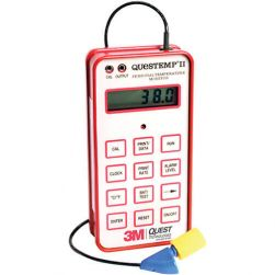 3M QUESTemp II Personal Heat Stress Monitor for Measuring Core Body Temperature