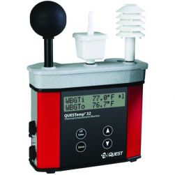 TSI QUESTemp 36 Intrinsically Safe Datalogging Heat Stress Monitor With Displayed Stay Times