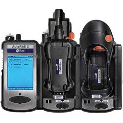 Rent a RAE Systems AutoRAE 2 automatic bump test and calibration station when you're renting gas detectors for more than 2 days.