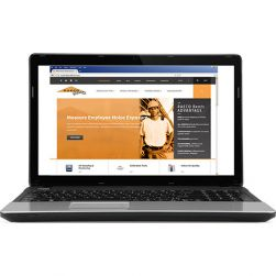 Laptop PC Loaded with Data Management and Testing Software