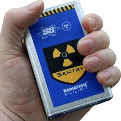 SE International Radiation Alert Sentry EC Personal Alarming Dosimeter and Ratemeter