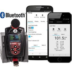 TSI Quest Edge 4 Plus Personal Noise Dosimeter with Bluetooth Connectivity