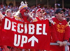 Photo Credit: New York Daily News; Arrowhead Stadium World Record